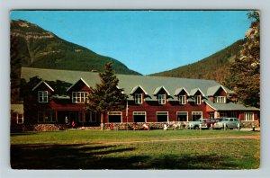 Waterton Lakes Natl Park AL- Alberta, Kilmorey Lodge, Chrome c1960Postcard