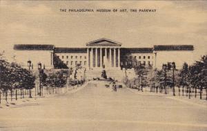 The Philadelphia Museum Of Art, The Parkway, Philadelphia, Pennsylvania, PU-1935