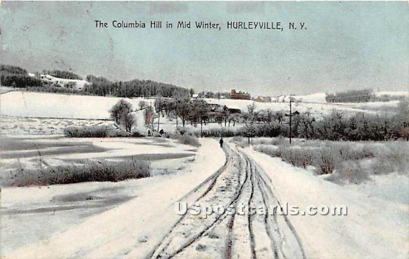 Columbia Hill - Hurleyville, New York