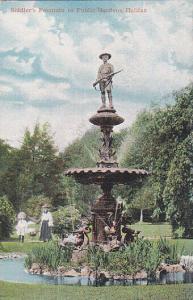 HALIFAX , Nova Scotia , Canada , 00-10s;  Soldier's Fountain In Public Gardens