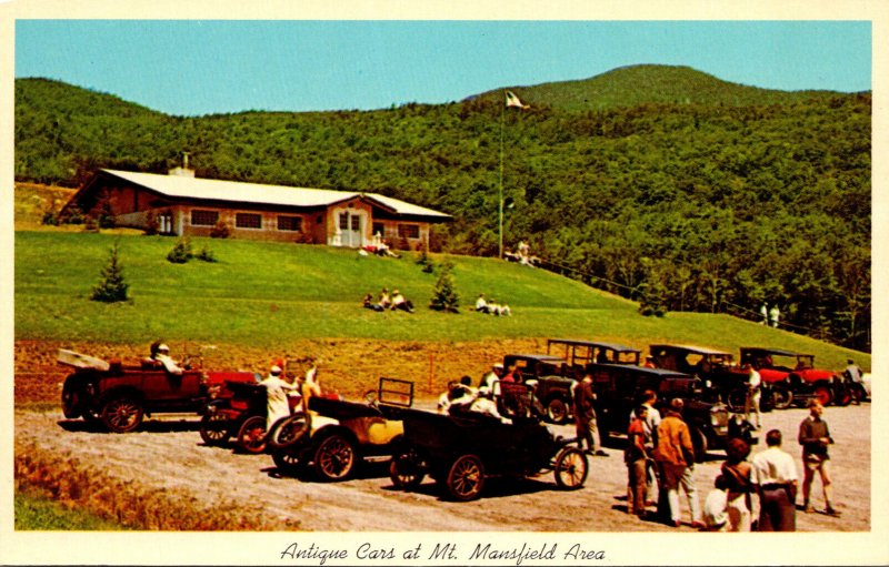 Vermont Mount Mansfield Antique Car Rally
