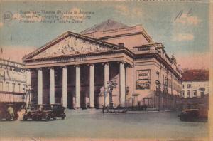 Belgium Brussels Theatre Royal da la Monnaie 1934