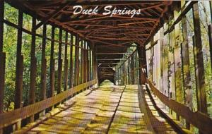 Alabama Keener Duck Springs Covered Bridge