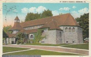 ARDMORE, Pennsylvania, PU-1927; St. Mary's Church