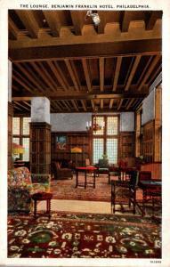Pennsylvania Philadelphia Benjamin Franklin Hotel Lounge