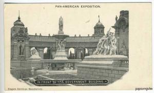 Pan-American Expo Government Building Postcard