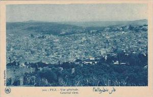 Morocco Fez General View 1920-30s