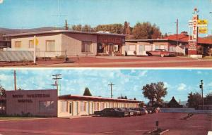 Panguitch Utah New Western Motel Multiview Vintage Postcard K70769