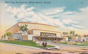 Flroida Miami Beach New City Auditorium