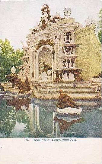Portugal Leira Fountain At Leira No 23  Womans World  Trip Around The World S...