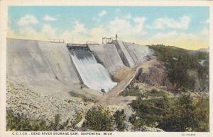 C.C.I. Company, Dead River Storage Dam, Ishpeming, Michigan, 1900-1910s