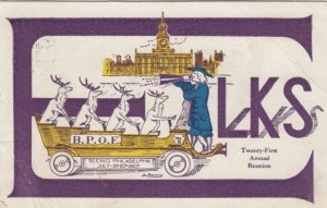 PHILADELPHIA, Pennsylvania, PU-1907 ; 21st ELKS reunion