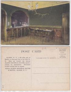 Mineral Baths & Hotel Office, Alden NY