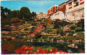 Post Card Dorset BOURNEMOUTH The Pavilion Rockeries Thundern& Clayden Ltd. Sunr
