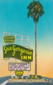 California Banning San Gorgonio Inn Restaurant