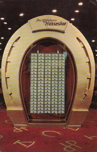 Nevada Las Vegas Joe W Brown's Horseshoe Club Million Dollar Display