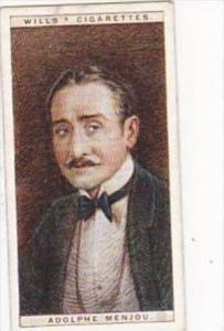 Wills Cigarette Card Cinema Stars 2nd Series No 16 Adolphe Menjou