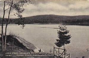 View from Arnold's Point, Seventh Lake, Fulton Chain, Adirondack Mts., New Yo...
