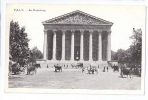 Paris La Madeleine Catholic Church ca 1910 France