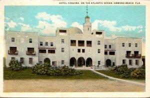 Florida Ormond Beach Hotel Coquina 1926 Curteich