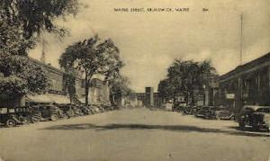 Maine St. Brunswick ME Unused