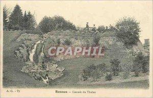 Postcard A Converted g 73 reindeer cascade thabor