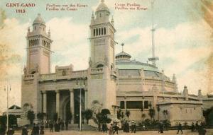 Africa - Congo. Gent-Gand, 1913. Congo Pavilion --VERY RARE FIND