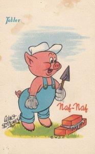 Walt Disney ; Three Pigs , 1940-50s