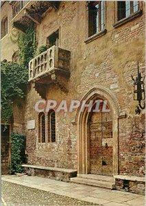 Modern Postcard Verona Juliet's House