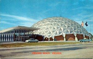 Virginia Virginia Beach First Aluminum Domed Convention Center 1960