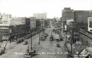 Broadway in Fargo, North Dakota