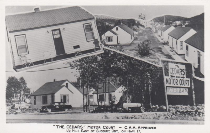 RP: SUDBURY, Canada, 30-40s ; The Cedars Motor Court