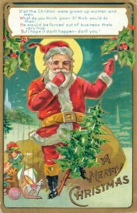 If all the Children were grown up women and men. Christmas - Santa Claus - 04.26