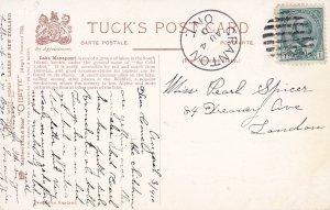 Lake Manapouri , New Zealand , 1910 ; TUCK 7051