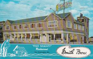 Smith Brothers Fish Shanty Restaurant Port Washington Wisconsin 1960