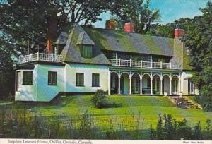 Canada Ontario Orillia Stephen Leacock Home