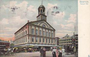 TUCK #1069, Faeuil Hall, BOSTON,  Massachusetts, PU-1909