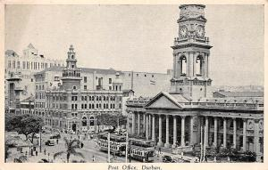 South Africa Durban, Post Office, Auto, Trams, Cars