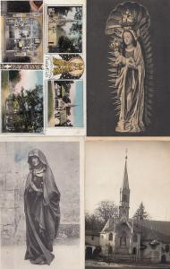 Kreis Aalen Blutenburg Maria Eich Monastry 4x German Religious Postcard s