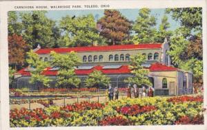 Ohio Toledo Carnivora House Walbridge Park 1936
