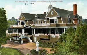 ME - Falmouth. Underwood Spring Park, Casino
