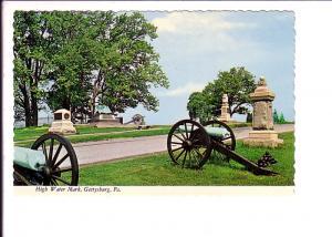 High Water Mark  Gettysburg, Pennsylvania, Cannons