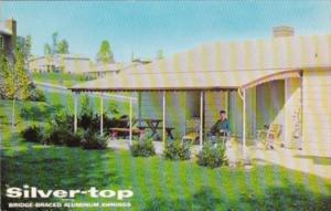Advertising Silver Top Aluminum Awnings Silver Top Manufacturing Company Whit...