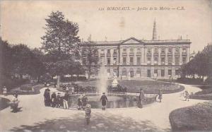 France Bordeaux Jardin de la Mairie