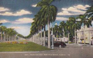 Royal Poinciana way, West Palm Beach,  Florida, 30-40s