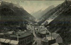 Brigham Canyon UT Carr Fork c1910 Postcard