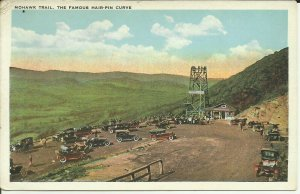 Mohawk Trail, The Famous Hairpin Turn
