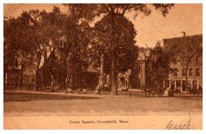 Massachusetts  Greenfield , Court Square