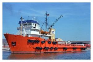 ap0904 - Norwegian Tug Supply - Broco Bird , built 1975 - photograph 6x4