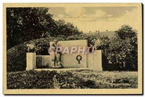 Postcard Old Prostejov Pomnik Padlych